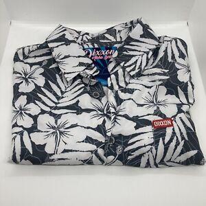 Dixxon Aloha short sleeve party shirt size large