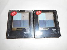 LOT OF 2 BLACK RADIANCE EYE SHADOW RETRO CHIC 8805A *IMPERFECT PALLET* 0.22oz EA