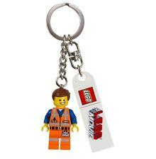 Lego Movie EMMET Emit Emmit Emmett Minifig Key Chain Keychain xmas gift present