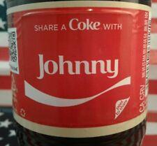 Share A Coke With Johnny 2018 Personalized Coca Cola Vanilla Bottle