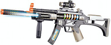 Machine Guns Military Soldier M-16 Toy Rifle With Sound And Light - 28.5