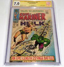 Tales to Astonish #100 CGC SS Signature Autograph STAN LEE Hulk Sub-Mariner 🔥