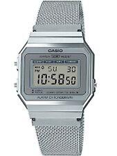 Unisex Casio Classic Silver Tone Vintage Watch #A700WM-7AVT