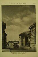 The Architectural Forum antique vtg old Architecture Arts magazine Sept 1927