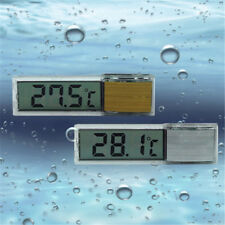 Aquarium LCD Digital Thermometer Stick On Temperature Meter Tool For Fish Tank