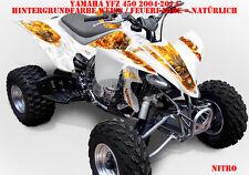 Invision décor Graphic Kit ATV yamaha yfz 450 04-14,yfz 450r NITRO Décalques B