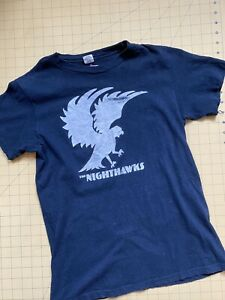 """Vintage 80s """"THE NIGHTHAWKS"""" Concert Hanes Top T-Shirt Tour Tee Blues Music"""