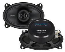 "Crunch DSX462 6""x4"" 2 Way Coaxial Car Speakers Custom Fit 1 Pair"