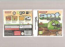 Rare !!! ANT NATION : Hyper Original DS/DSi/3DS. Jeu NEUF Blister