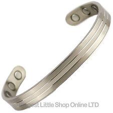 Nouveau Style TITANE Bracelet magnétique/Bracelet 2 TONS Bio AIMANT Néodyme