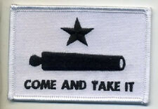 COME AND TAKE IT EMBROIDERED IRON ON BIKER PATCH