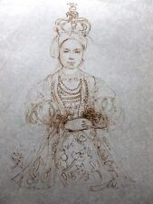 Edna Hibel -INFANTA - VERY RARE-Hand Signed & Numbered LTD ED