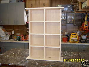 DVD STORAGE CABINET SHELF CAN MAKE TO ORDER FREE COLOR