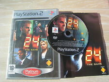 24 Heures Chrono COMPLET (PS2)