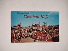 Keansburg NJ BOARDWALK amusement 1950s