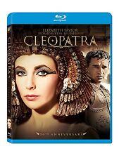 CLEOPATRA (1963) ELIZABETH TAYLOR 5OTH ANNIVERSARY BLU RAY 2013 REG FREE 2 DISC