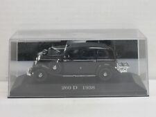 Mercedes-Benz 260 D in Black, no OVP + Cabinet, IXO/DE AGOSTINI, 1:43