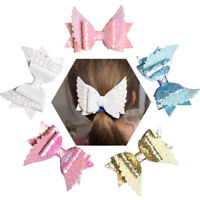 Angel Wing Princess Hairgrips Glitter Hair Bows with Clip Dance Party Hair Clips