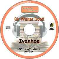 Ivanhoe - Sir Walter Scott MP3 Audio Book 44 episodes/chapters on CD