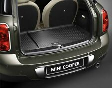 MINI Genuine Fitted Luggage Compartment Boot Mat Essential Black R60 51472182514