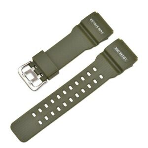 Sports Watch Band for G-Shock GWG-100 GG-1000 GSG-100 Durable Resin Watch Strap