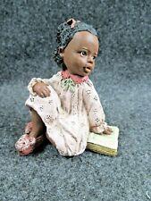 """All God'S Children By Miss Martha Originals Figurine """"Alexandria"""" Edition # 48"""