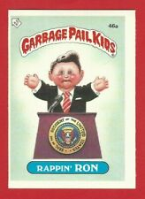 GARBAGE PAIL KIDS 2nd - TOPPS 1985 TRADING CARD - 46a RAPPIN' RON  (NM05)
