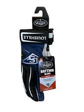 Louisville Slugger BG Series 5 Batting Gloves Navy Adult