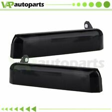 2 New Outside Black Front Left Right Door Handle For Nissan D21 Pickup 86-97 OB