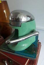 Vintage 1930 Retro Rival Juice-O-Mat Teal Juicer Modern Kitchen Single Action