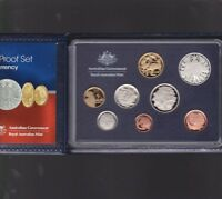 2006 Australia Proof Coin Set in Folder with outer Box & Certificate