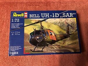 """REVELL Bell UH-1D,, SAR"""" Model # 04444 1:72 New in the Box"""
