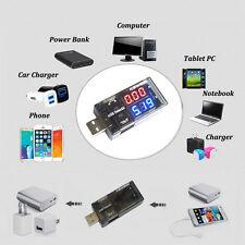 USB Charger Current Voltage Charging Detector Battery Tester Voltmeter Ammeter