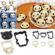 Cute Panda Kawaii Animal Cookie Cutter DIY Kitchen Cooking Cake Molds Moulds Set