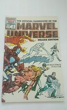 the official handbook of the marvel universe deluxe edition # 6 , 1986