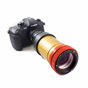 Schneider 2X Anamorphic Lens V3.5 PREMIUM SINGLE FOCUS setup, for DSLR Cameras