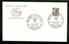 Italia 1971 : Siracusana L. 180  - FDC Cavallino / 1° giorno di emissione