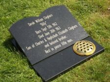 Large memorial plaque engraved personalised headstone 300x400mm