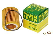 MANN HU816X Engine Oil Filter for BMW NEW
