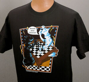 Chess - Smooth Move Chess-ter -- 10 color T-shirt CLOSEOUT -- while they last!