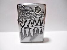 BRAND NEW ZIPPO 2015 I-15 PLAQUE CIGARETTE LIGHTER - FIRE BREATHING DRAGON