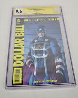 Before Watchmen Dollar Bill 1 DC Rebirth 9.6 CGC SS Signed 1:200 Jim Lee Variant