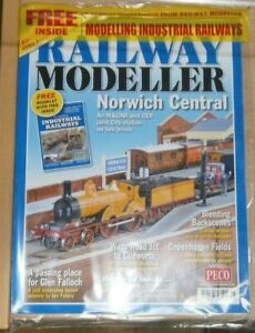 Railway Modeller magazine May 2021 Norwich Central on 2 levels + Industrial mag