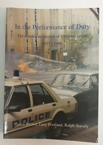 IN THE PERFORMANCE OF DUTY AUG 1994 SIGNED VGC+