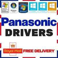 PANASONIC LAPTOP & PC DRIVERS RECOVERY RESTORE DISC FIX REPAIR WINDOWS XP/7/8/10