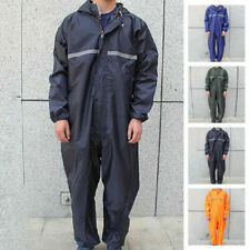 Waterproof Motorbike Motorcycle Rain Suit Raincoat Overalls Work Outdoor
