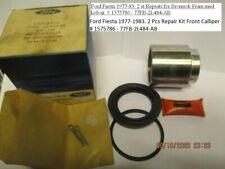 Ford Fiesta 1977-1983. 2 Pcs Repair Kit Front Calliper # 1575786 - 77FB-2L484-AB