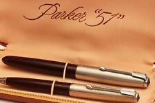 c.1950 vintage PARKER 51 FOUNTAIN PEN & PENCIL SET w/BOX