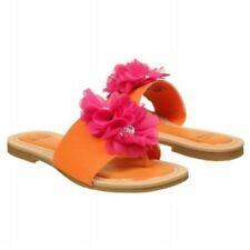 Stuart Weitzman Kids Girl's Rose Water (Toddler) Orange Sandal,Size 9  M, EUR 26
