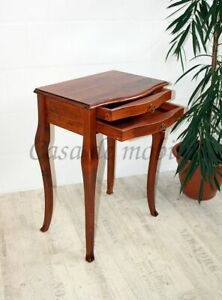 Massivholz Beistelltisch kirschbaum Farbe NEU Konsolentisch Wandtisch Nachttisch